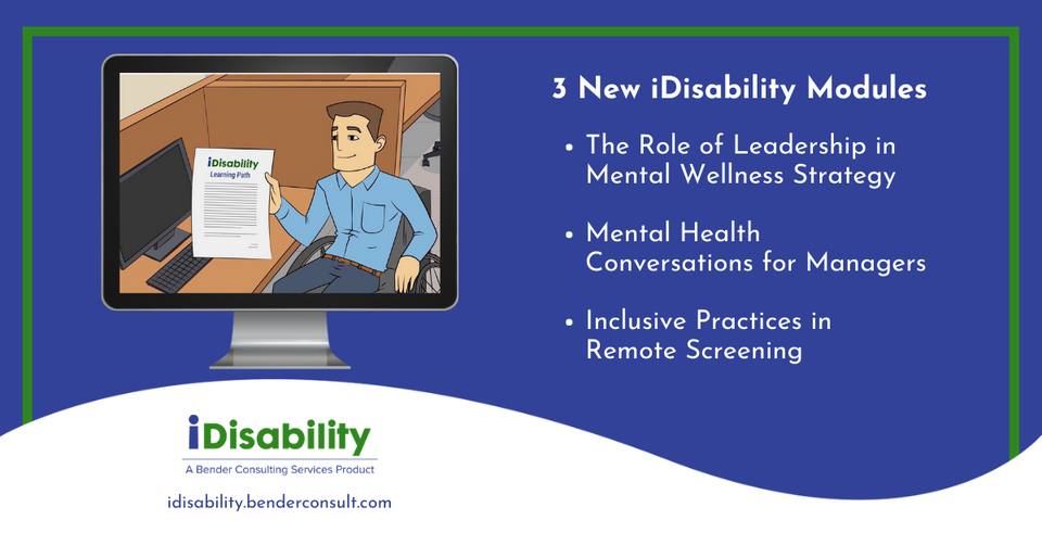 Hooray! 3 New iDisability Modules For Your Team